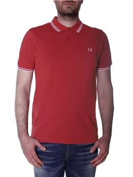 Polo fred perry classica ROSSO