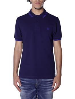Polo fred perry classica BLU RIGA BLUETTE