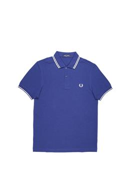Polo fred perry mezza manica BLUETTE