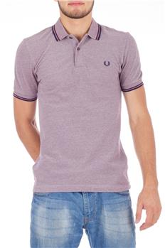 Fred perry polo classica BORDEAUX MELANGE