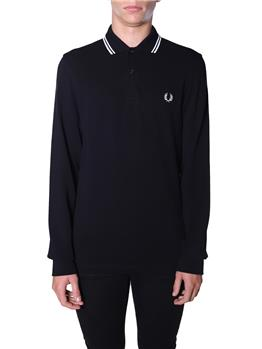 Polo fred perry uomo NERO