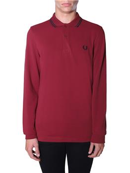 Polo fred perry uomo BORDEAUX Y0