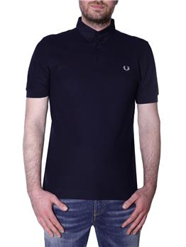 Polo fred perry 3 bottoni NAVY