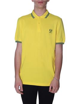 Polo fred perry brasil YELLOW