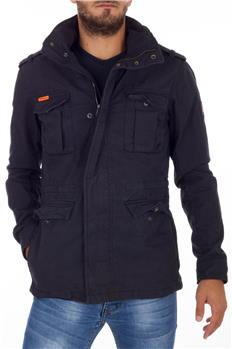 Superdry field jacket uomo BLU