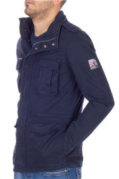 Superdry field jacket cotone BLU