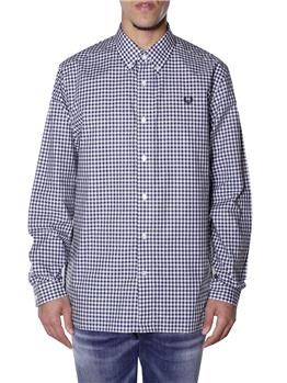 Camicia fred perry quadretto DARK AIR FORCE