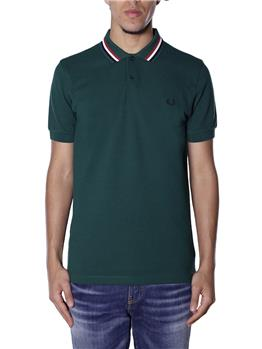 Polo fred perry uomo VERDE IVY