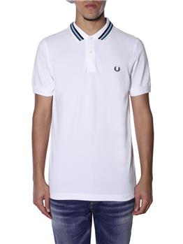 Polo fred perry uomo SNOW WHITE
