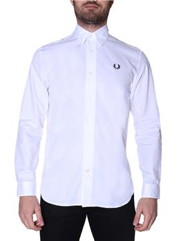 Camicia fred perry botton down WHITE
