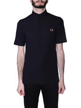Polo fred perry botton down BLACK