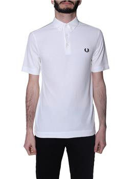 Polo fred perry botton down SNOW WHITE