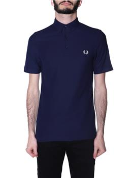 Polo fred perry botton down CARBON BLUE