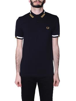 Polo fred perry uomo BLACK