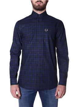 Camicia fred perry uomo CARBON BLUE