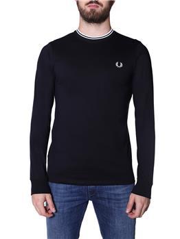 T-shirt fred perry uomo BLACK I0