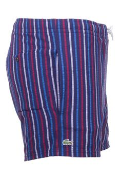Costume lacoste seersucker BLU E BORDEAUX P3