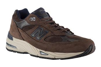 New balance 991 scamosciata MARRONE
