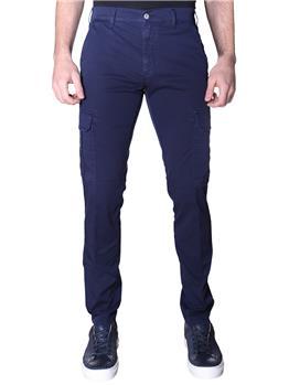 Pantalone roy rogers cargo BLUE NAVY