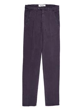 Pantalone chino roy rogers MARRONE