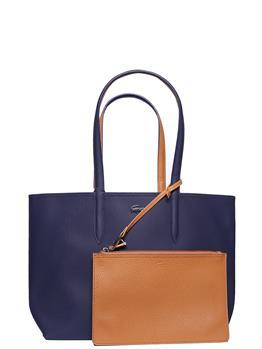 Borsa lacoste donna shopping BLU