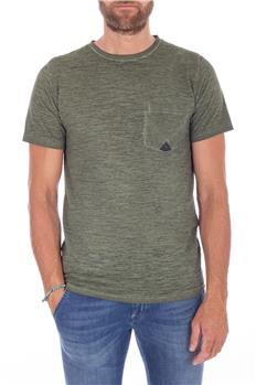 Roy rogers t-shirt lavata VERDE MILITARE