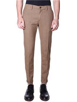 Pantalone re-hash cotone MARRONE CHIARO