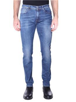 Pantaloni re-hash uomo rubens BLU