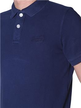 Polo superdry uomo vintage NAVY