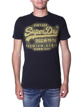 T-hirt superdry uomo EAGLE GREEN