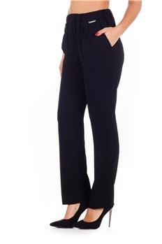 Pantalone twin set NERO