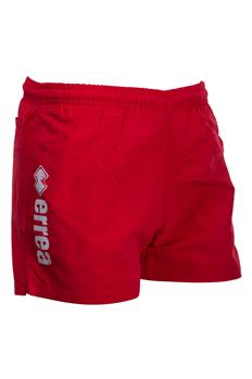 Pantaloncino errea logo ROSSO