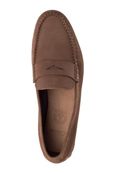 Clarks uomo mocassino MARRONE