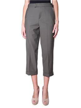 Pantalone twin set classico VERDE