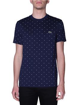 T-shirt lacoste uomo pois BLU