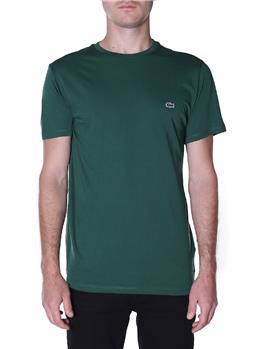 T-shirt lacoste cotone pima VERT