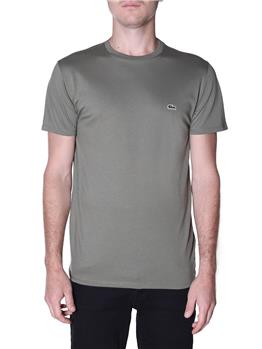 T-shirt lacoste cotone pima VERT KAKHI