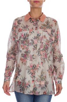 Twin set camicia floreale ROSA