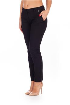 Pantalone twin set stretto NERO