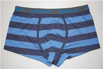 Boxer gallo riga larga DENIM BLUE