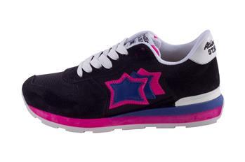 Sneaker atlantic star donna NERO