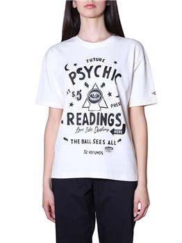 T-shirt superdry donna graphic OYSTER