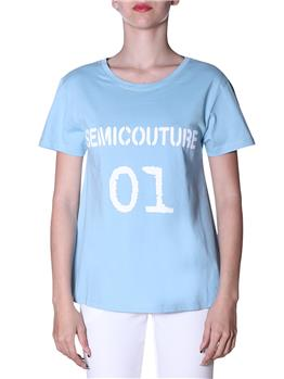 T-shirt semicouture classica NUVOLA
