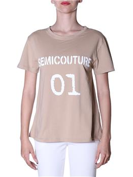 T-shirt semicouture classica SAFARI