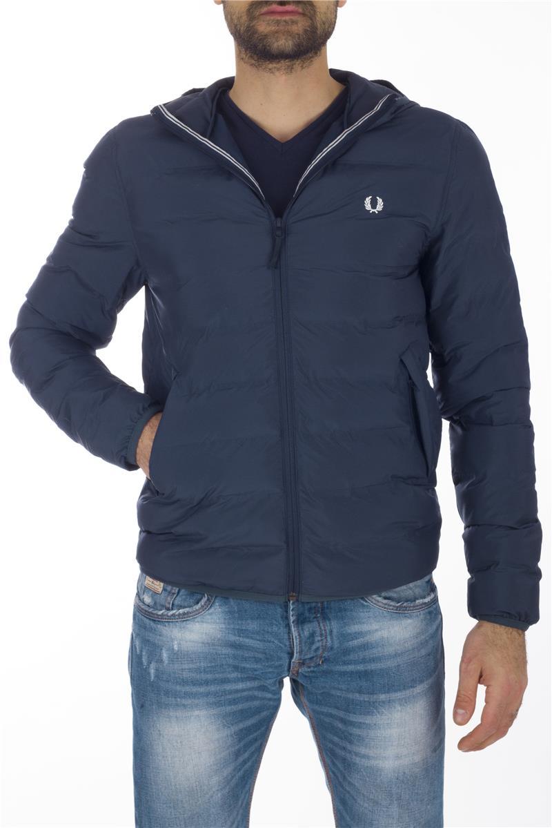 quality design 45230 05736 Piumino fred perry uomo BLU
