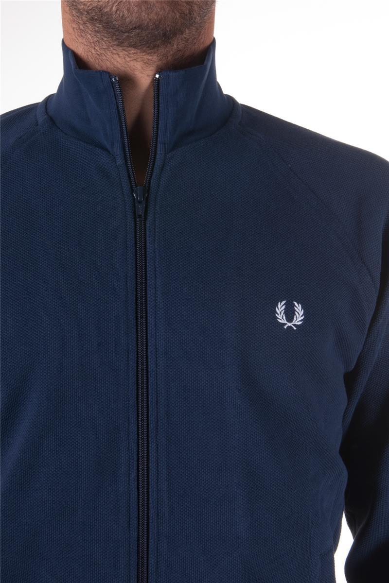 a basso prezzo f00f7 f7c74 Fred perry maglia full zip BLU Y5