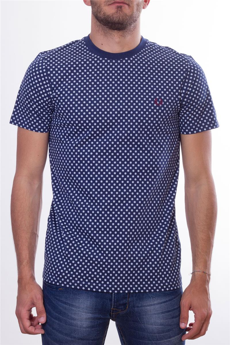 710b85e02 Fred perry t-shirt uomo pois BLU P6 - gallery 5 · Fred ...