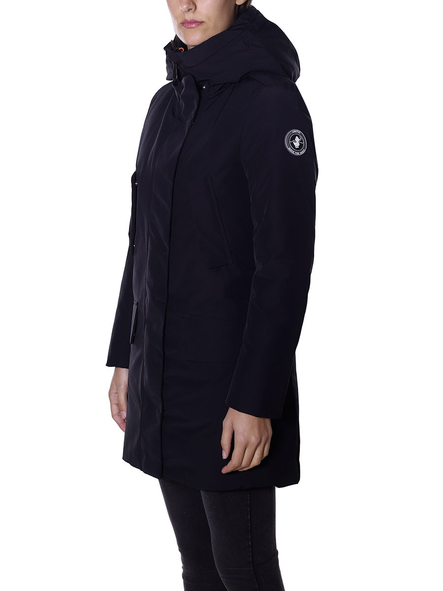 new arrival 00a76 87c42 Parka save the duck donna BLACK