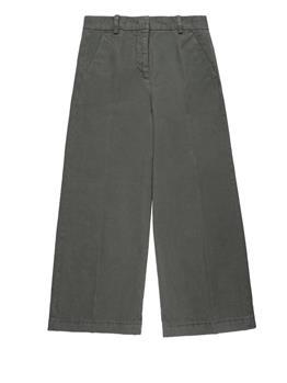 Pantaloni aspesi donna VERDE MILITARE