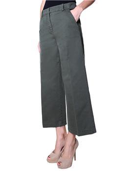 Pantaloni aspesi donna VERDE MILITARE - gallery 3